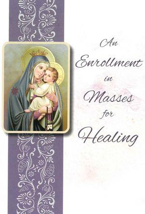 Health & Healing Enrollment Card