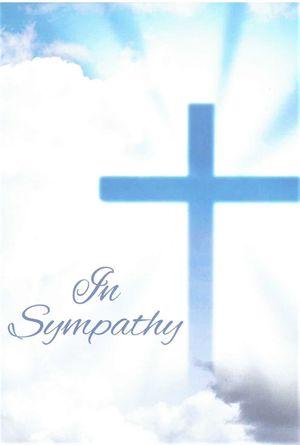 In Sympathy Enrollment Card
