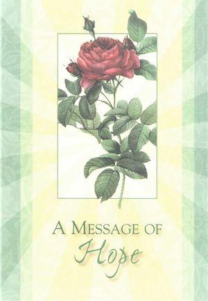 Message of Hope Enrollment Card