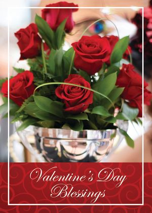 St. Valentine's Day Mass Enrollment Card