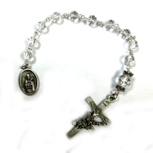 Blessed Crystal Bead Chaplet