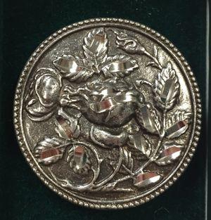 Pewter Rose Pin