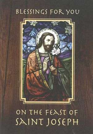 St. Joseph's Day Card