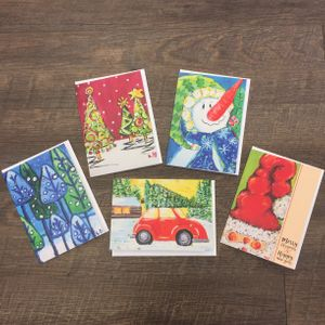 Variety Holiday Cards - 2018 (10 count)