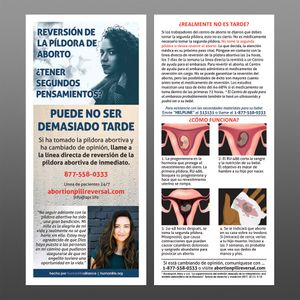 Abortion Pill Reversal Spanish Fact Card