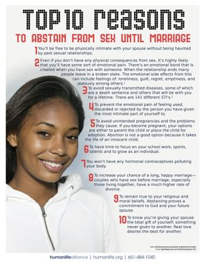 Top 10 Abstinence Kenya Girl Fact Sheet
