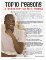 Top 10 Abstinence Kenya Male Fact Sheet