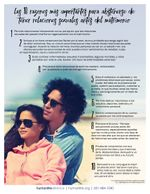 Top 10 Abstinence Spanish Fact Sheet