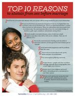 Top 10 Abstinence US Fact Sheet