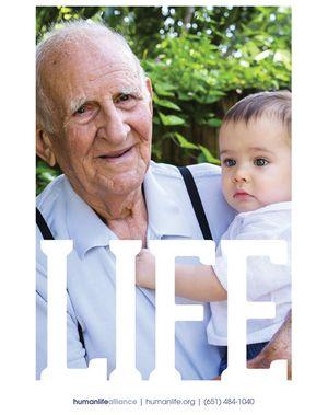Life Grandpa Baby Poster