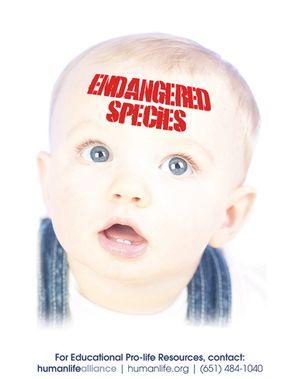 Endangered Species Poster