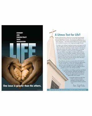 Life Pastor Parker 1/2 Size Handout