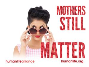 Mothers Still Matter Laptop/Bumper Sticker