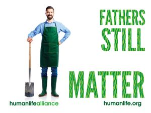 Fathers Still Matter Laptop/Bumper Sticker