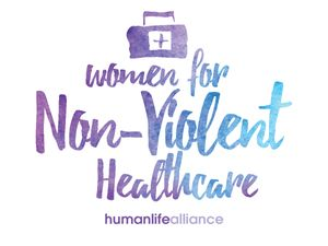 Women for non-violent healthcare Laptop/Bumper Sticker