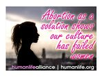 Abortion as a solution shows our culture has failed women Laptop/Bumper Sticker