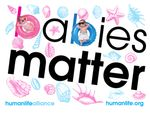 Babies Matter  Laptop/Bumper Sticker Version  4