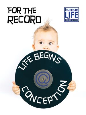 For the Record Life Begins at Conception