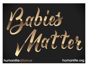 Babies Matter Version 2