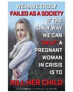Crisis Pregnancy Poster