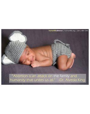 Alveda King Poster