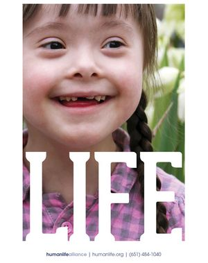 Life Disability Girl Poster