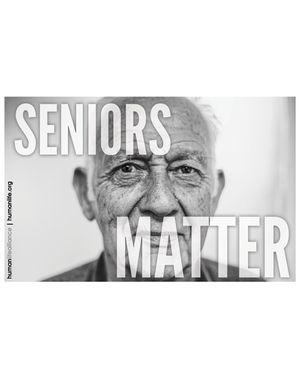 Seniors Matter Poster