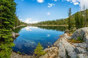Reflection, Van Patten Lake, Oregon