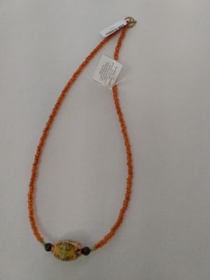 Orange Mirage Beads
