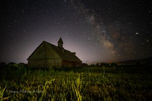 Milky Way over Wingville Barn I