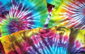 Tie Dye with Ginger