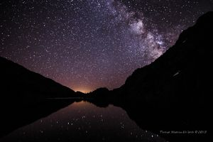 Falling Stars in Twin Lakes