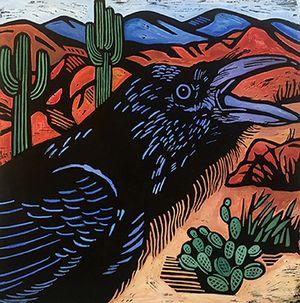 Raven in the Desert