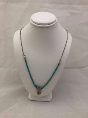 Turquoise w/ Sterling Silver Necklace