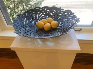 Bronze Bowl with Lemons