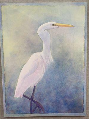 Misty Egret