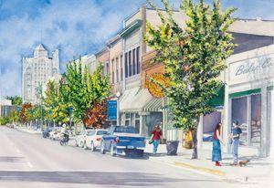 Main Street Giclee