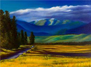 Montana Side Road