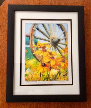Susans and a Wagon Wheel