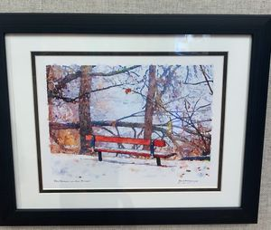 Red Bench on the River-2021 Annual Open Regional Honorable Mention