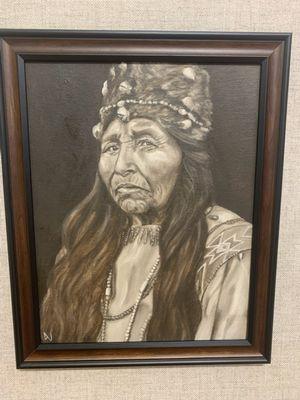 Klamath Woman-2021 Annual Open Regional Honorable Mention