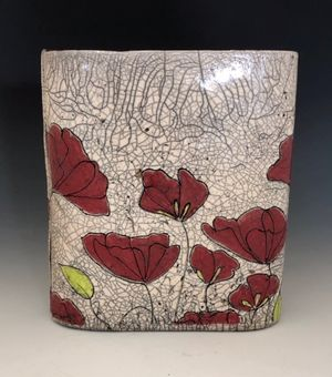 Poppy Vase- Honorable Mention