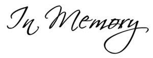 Donation In Memory of John Kirby