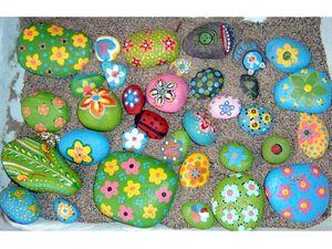 Kids Acrylic Rock Painting