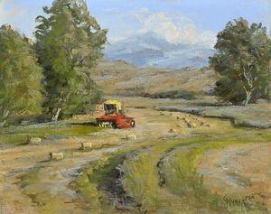 Haying among the Foothills