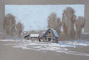 A River Bottoms Barn