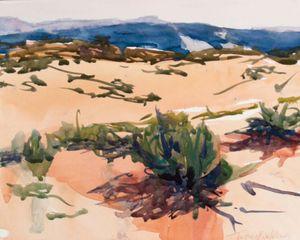 Mountain, Sand, and Sage