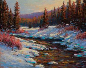 Bighorn Winter - Tranquil Afternoon