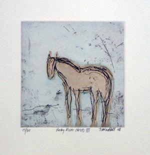 Ruby River Horses III