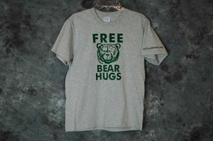 Toddler T-Shirt Free Bear Hugs